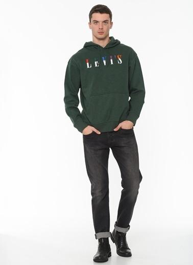 Levi's® Erkek Hoodie Relaxed Graphic 38479-0009 Renkli